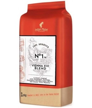 Кофе в зернах Julius Meinl THE ORIGINALS Vienna XVI Blend 1 кг